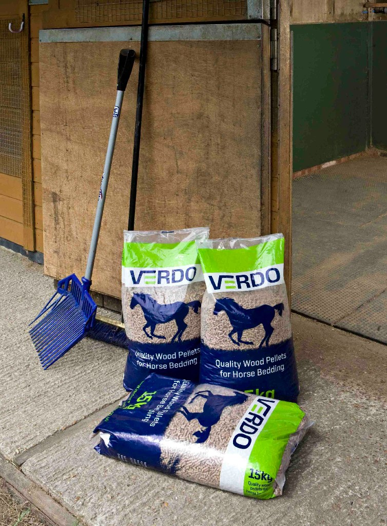 Why Choose Verdo Horse Bedding