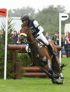 Bill Levett and Improvise, Burghley 2014