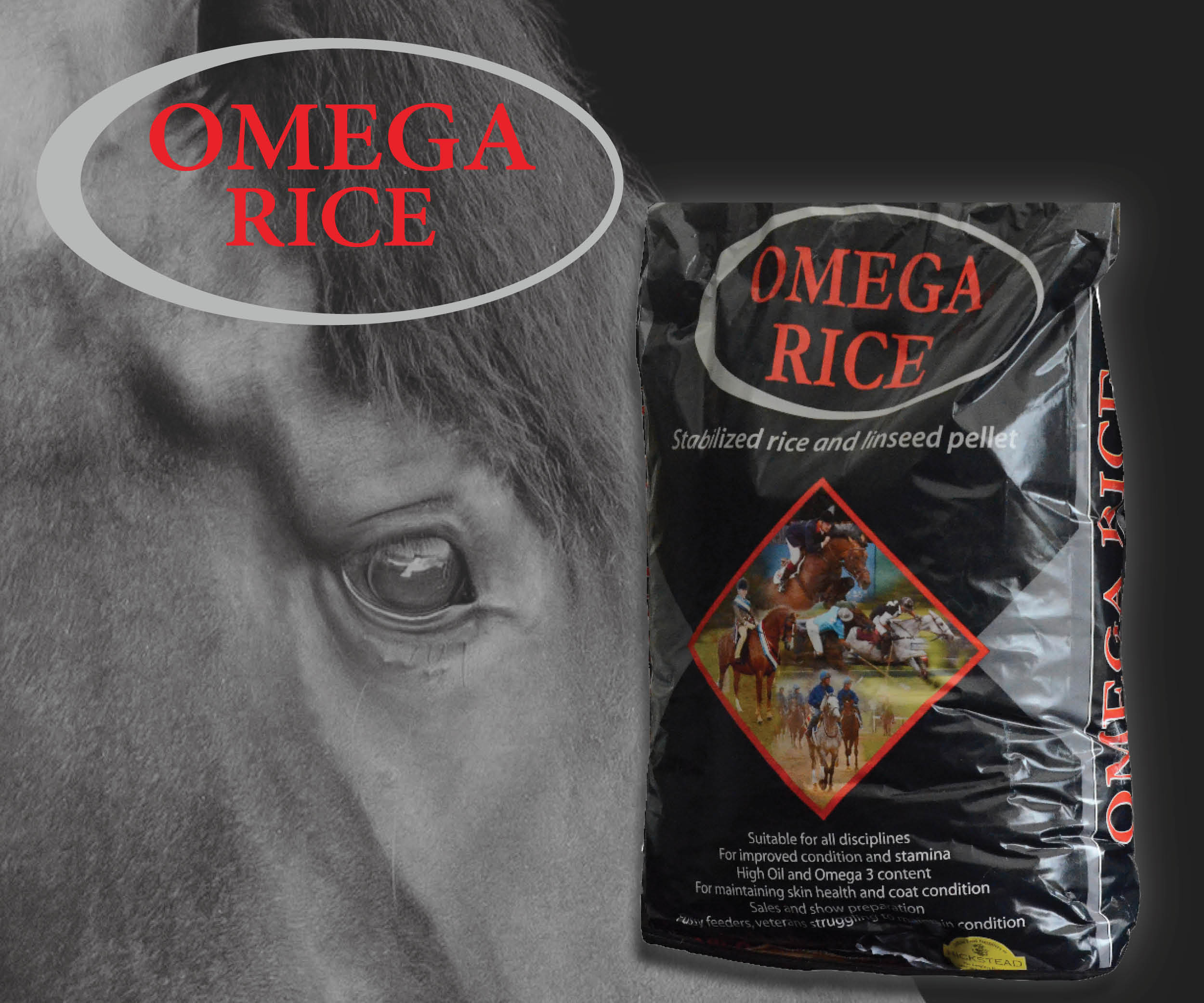 Falcon Equine Feed's Omega Rice – Tried and Tested