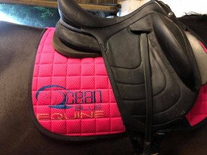 FIR-TECH Healing Saddle Pad *Limited Edition* – Ocean Blue Equine