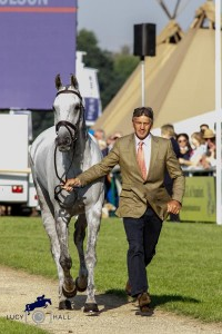 5 minutes with Andrew Nicholson who is preparing  for Badminton Horse Trials.