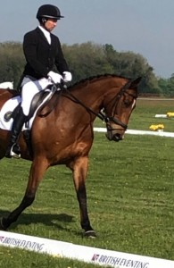 LARRISTON RED BAILEY AND DAN TITTERTON DRESSAGE AT THE BADMINTON MMCUP19