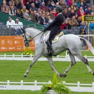 Andrew Nicholson and Swallow Springs dance through the Dressage