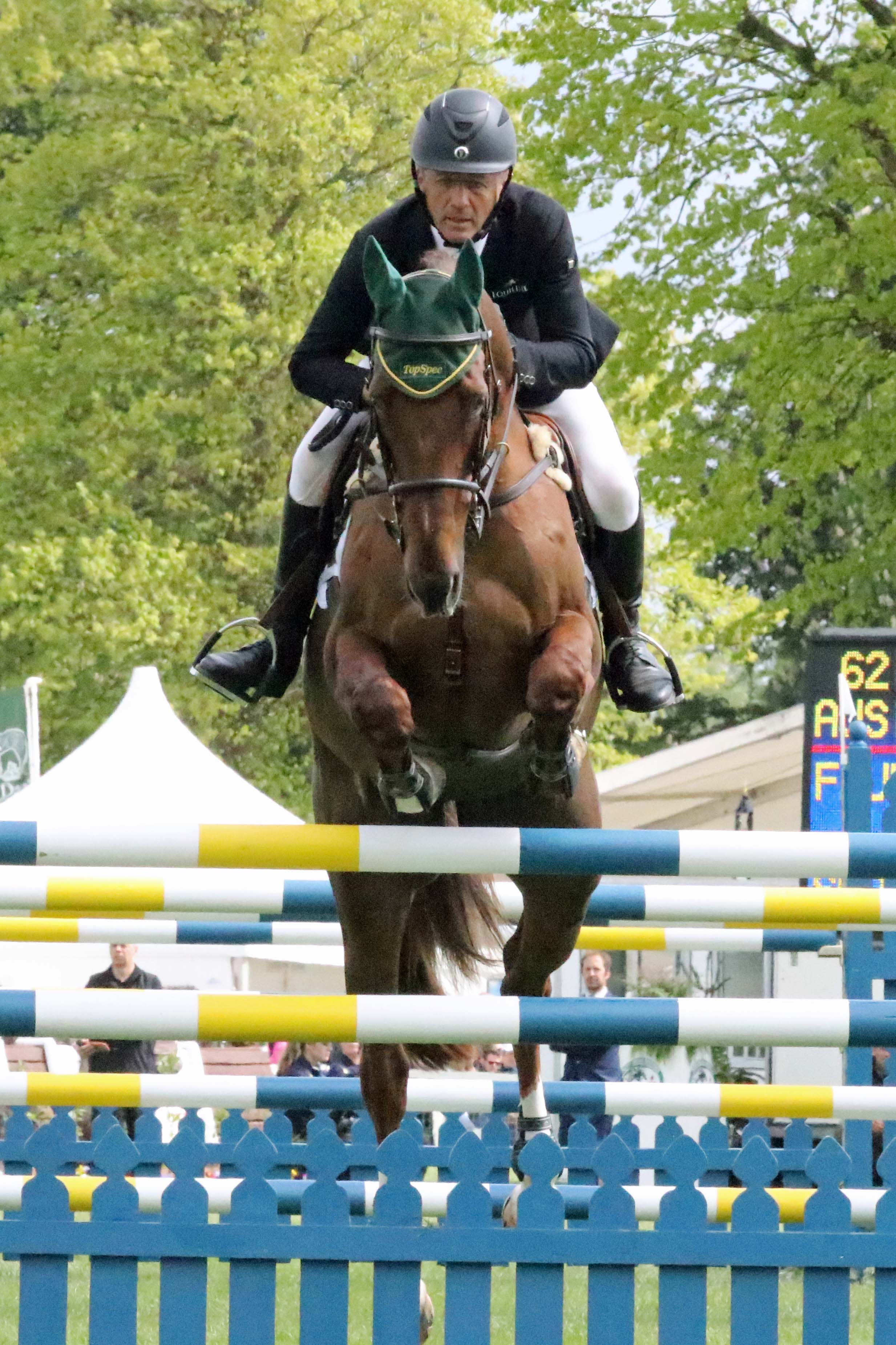 Bill Levett and Sparkles (Lassban Diamond Lift ) Shine at Badminton 2019