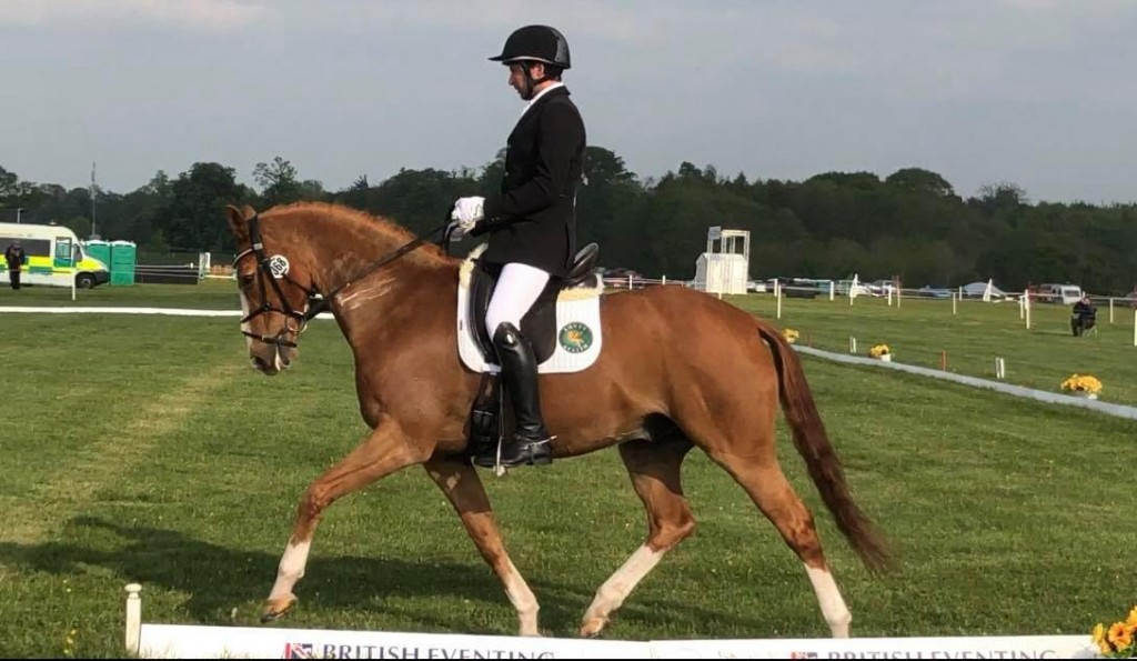 VISION B AND DAN TITTERTON DRESSAGE AT THE BADMINTON MMCUP19