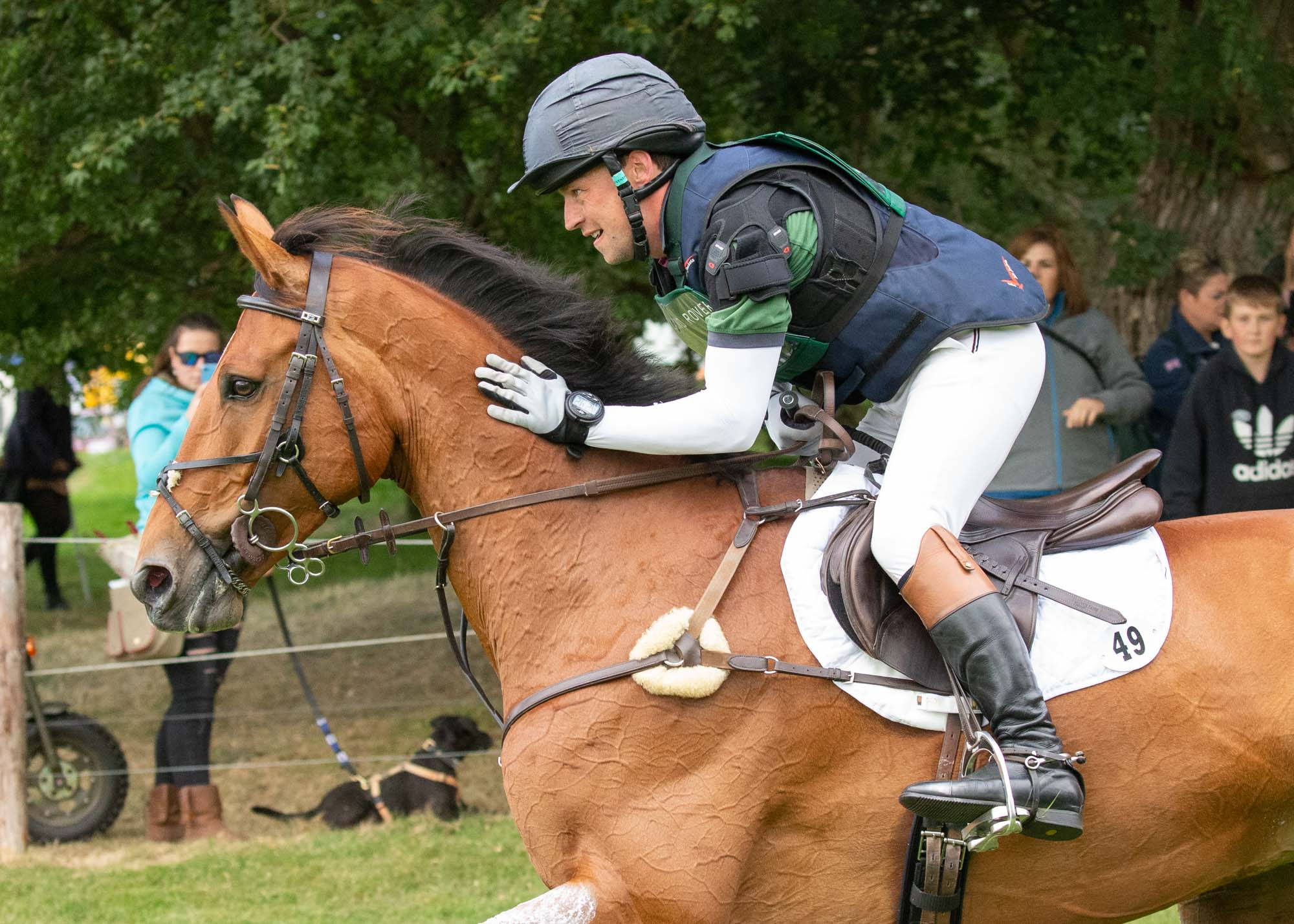 A Gallant Effort from The Rutman A Very Tough Burghley Cross Country :Simon Grieve