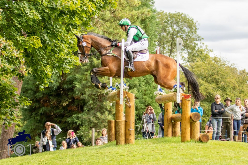 Michael Owen Completes the Cross Country at The Land Rover Burghley Horse Trials 2019