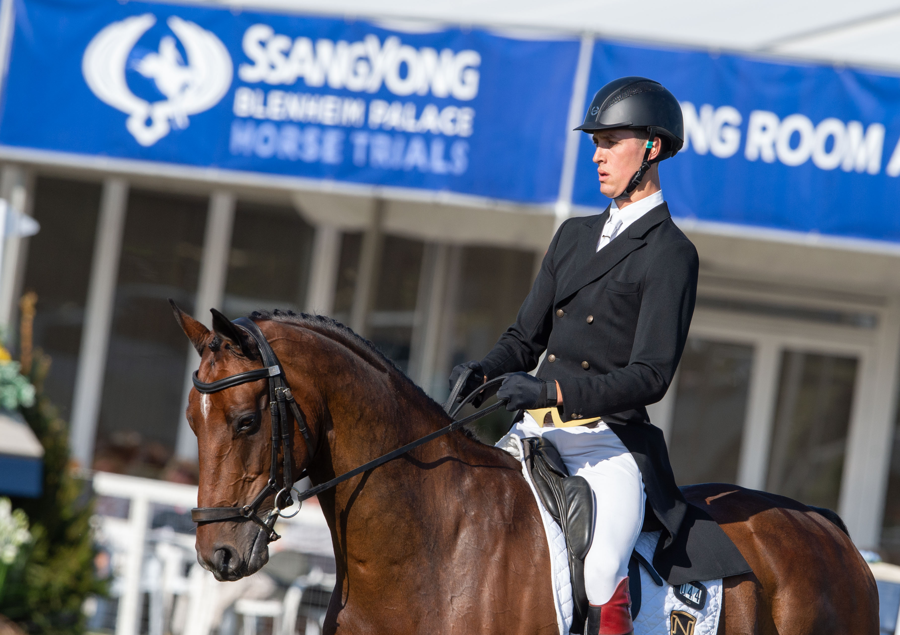 SSANGYONG BLENHEIM PALACE HORSE TRIALS:  YOUNG BRITISH RIDER SNATCHES THE LEAD
