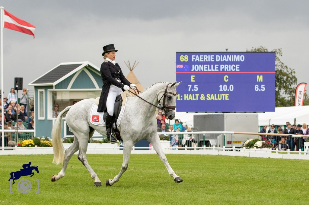 Can you put a Price on Burghley after Dressage: Jonelle Price