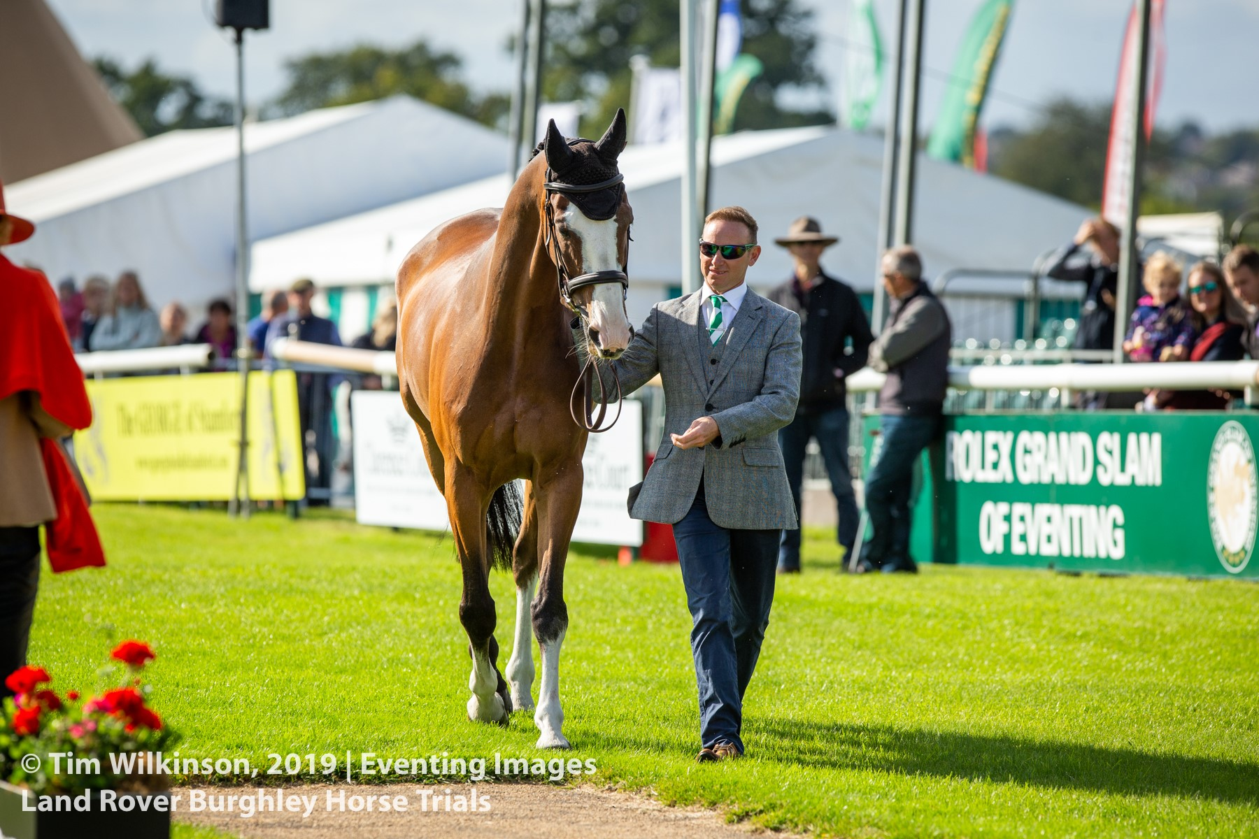 Two rides for Michael Owen at Burghley this year – We caught up with him to find out more!