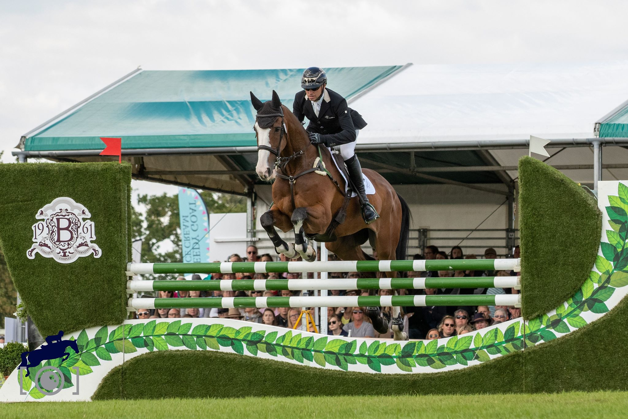 Michael Owen And Bradeley Law Finish Go Clear In The Showjumping To Finish 19th At Burghley 2019