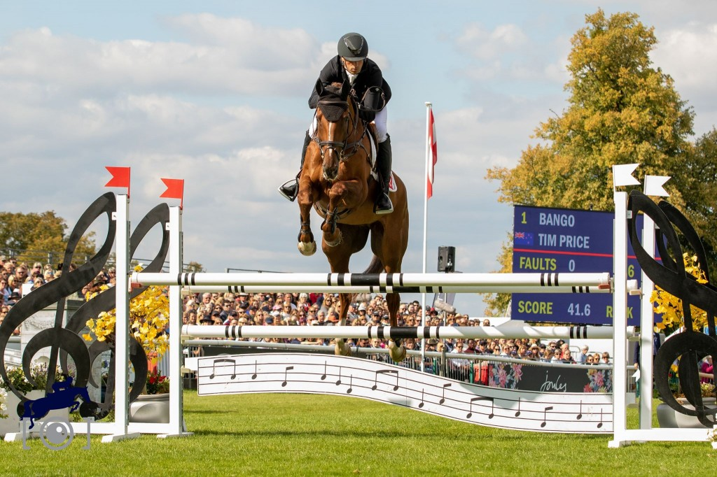 5TH For Bango At Burghley : Tim Price
