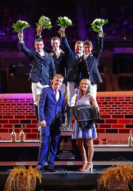 A phenomenal Puissance at Liverpool International Horse Show