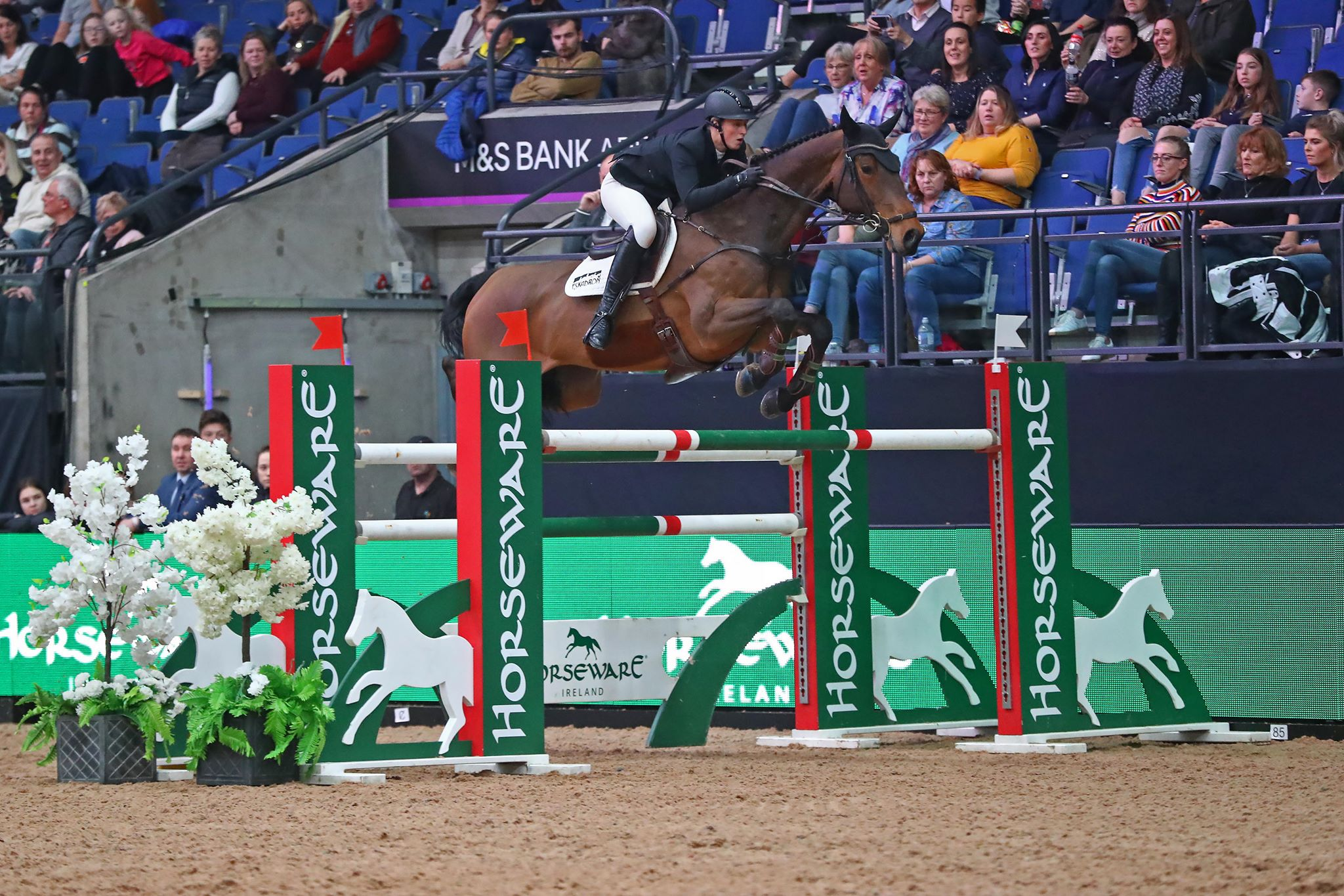 Holly Smith Wins the CSI4* at Liverpool International Horse Show on Sunday Evening
