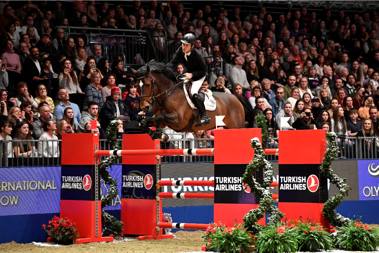BRITS ON TOP ON FINAL DAY OF OLYMPIA, THE LONDON INTERNATIONAL HORSE SHOW